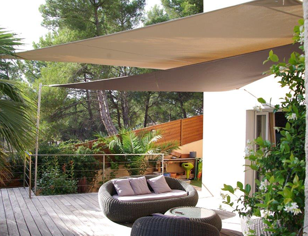 Voile ombrage Provence