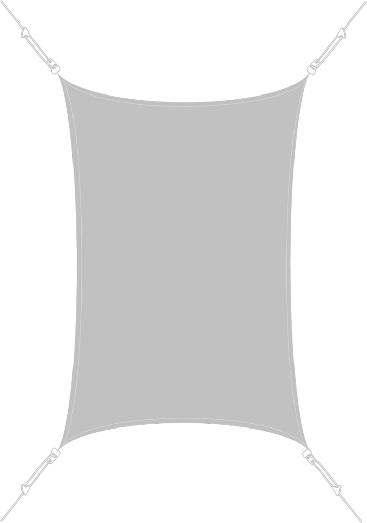 Voile d'ombrage Triangulaire